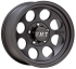 9x17 Off road disk Mickey Thompson Classic III Black
